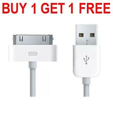 New Charging Cable Charger Lead for Apple iPhone 4,4S,3GS,iPod,iPad2&1 uk