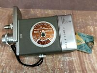 Bell & Howell 1950s 16 MM Magazine Camera 200 Silent Movie Camera With Tags