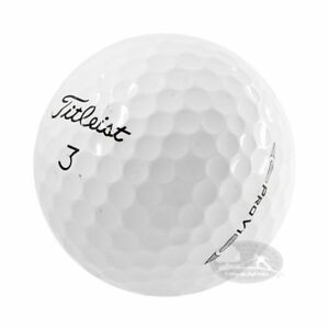100 Titleist Pro V1 palline da golf usate Cat. 5 Stelle (PEARL) used golf balls