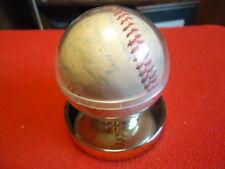 1972 Chicago Cubs Team Stamped Autographs Baseball Rare Banks, Williams, Santo