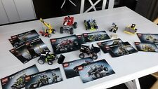 Lego Technic 7 sets: 8066 8256 8259 8260 8261 8270 8290 with instructions