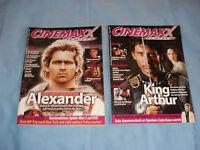 CINEMAXX KINO MAGAZIN SET  KING ARTHUR+ ALEXANDER CLIVE OWEN COLIN FARRELL
