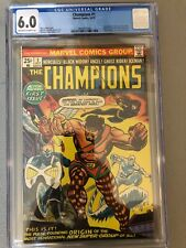 Champions #1--CGC 6.0--Origin and 1st appearance of the Champions!