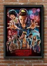 STRANGER THINGS - A4 Poster Print Eleven Dustin Steve Mike Will Lucas Hopper