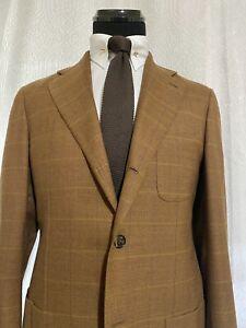 Isaia Nopoli Sport Coat 40 Long