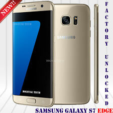 "Samsung Galaxy S7 EDGE G935V GSM & CDMA Unlocked (32GB) 5.5"" HD 12MP Gold"