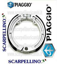 COPPIA GANASCE FRENI VESPA PX 80 cc Anteriore -PAIR OF SHOES- PIAGGIO 2665064