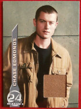 24 - Season 3 - JAMES BADGE DALE - Chase Edmonds' Brown Jacket - COSTUME CARD M1
