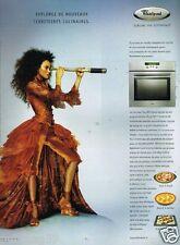 Publicité advertising 2007 Electroménager Whirlpool