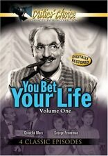 You Bet Your Life Vol.,1 4 Classic Episodes(Digitally Restored)NEW DVD FREE SHIP