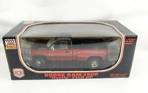 1995 JRL Collectibles  'JRL Dodge Ram Dually 3500 Pickup Truck' Die-Cast  1/18