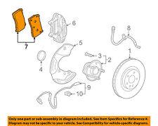 Chevrolet GM OEM 11-15 Camaro Brake-Front Pads 22907156