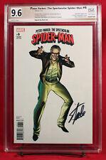 PETER PARKER SPEC SPIDER-MAN #6 PGX 9.6 NM+ Near Mint signed Stan Lee!!!  +CGC!!