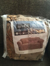 SURE FIT Furniture Slipcover – Suede Taupe Sofa