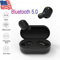 Wireless Earbuds Bluetooth V5.0 Headphones Waterproof with Mic & Charging Box