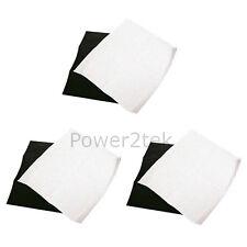 3 x FABER Cappa Estrattore SFIATO grasso & Charcoal Filters saturazione indica