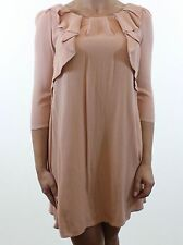 Topshop Patternless 3/4 Sleeve Mini Dresses for Women