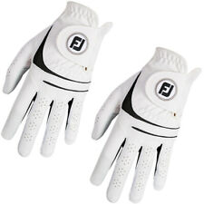 FootJoy WeatherSof Golf Gloves X 3 Size Mens Medium Large Right Handed Golfer