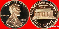 2002 S Lincoln Cent Deep Cameo Gem Proof