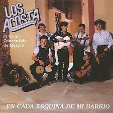 LOS ACOSTA - EN LA ESQUINA DE MI BARRIO (NEW CD)