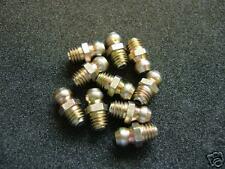 1/4 X28 UNF SAE-LT Hydraulic Grease Nipple Fitting (10) - UK Made - 1st Class