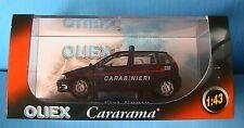 FIAT PUNTO SX CARABINIERI 112 OLIEX 1/43 ITALIA ITALIE NO POLIZIA BLEU BLAU BLUE