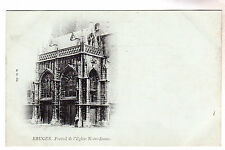 L'Eglise Notre Dame - Bruges Photo Postcard c1899