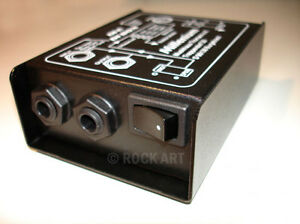 NEW Di Box Direct Injection Box Guitar/Bass Di Jack XLR Professional FAST 1ST UK