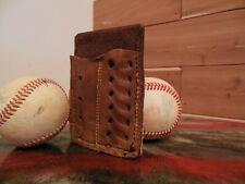Leather Baseball Glove Wallet, Spalding, Rawlings, Eason, Wilson