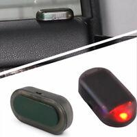 Car Alarm LED Light Solar Security Warning Dummy System Flashing Light Red