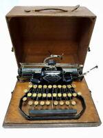 TOP►Antigua maquina de escribir BLICK 9 de 1909 Blickensderfer rare typewriter►