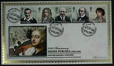EMINENT británicos-Henry Purcell Benham primer día cubierta