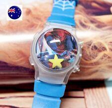 Boy Kid Children Spiderman Superhero LED Digital Wrist Watch birthday Gift