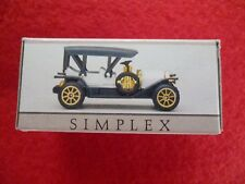 SIMPLEX MINIATURE AUTOMOBILE CAR # 305 NEW IN BOX.