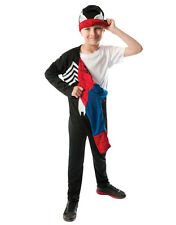 "Spider-Man Kids Reversible Costume, Large, Age 8 - 10, HEIGHT 4' 8"" - 5'"