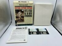 "FRONT PAGE SPORTS BASEBALL 94 EXTRA 16 STADIUMS PC FLOPPY DISC 3.5"" GAME"