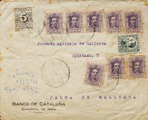 España. Islands Baleares. History Postal. Ibiza