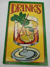 Vintage 1977 Alcohol Drinks Recipes Irena Chalmers Mixology