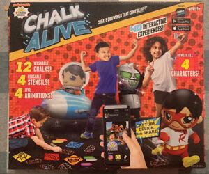 Ryan's World Chalk Alive 4D Interactive Chalk Art NEW!