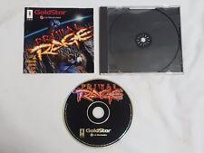 Primal Rage Panasonic 3DO Game GoldStar LG Electronics 3d0 Primalrage US NTSC