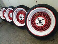 """15""""  kluch SL Deep Dish Alloys Wheels ford citroen Peugeot 4 x 108   15"""" x 8.5j"""