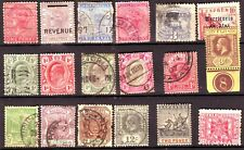 OLD WORLD * POSTAGE & REVENUE & POSTAL TELEGRAPH BOB = 18 =  FOREIGN  USED&MINT