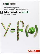 Matematica.verde 3G con Maths in English ZANICHELLI BERGAMINI cod.9788808272881