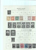 WORLD STAMPS MIX ON SHEET , GOOD COMMONWEALTH
