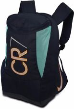Nike CR7 Shield Compact Obsidian Bright Mango Teal Back Pack Book Bag BA4755 402