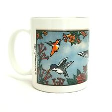 Wondermugs Magic Color Hummingbirds Picture Changing Coffee Mug  USA