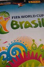 PANINI STICKER ALBUM FIFA WORLD CUP BRASIL 2014 / COMPLETE