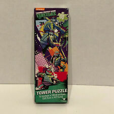 Teenage Mutant Ninja Turtles Tower Puzzle 50 Piece Brand New 5 in x 18.8 in
