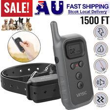 Anti-Bark Electric Shock Dog Pet Training E-Collar Remote Control NO Barking AU
