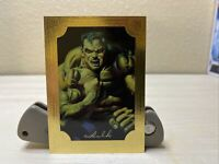 1996 Marvel Masterpieces HULK GOLD GALLERY 2 Of 6 Fleer/SkyBox